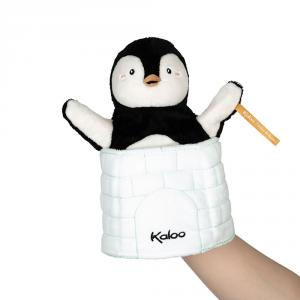 Marioneta sorpresa pingüino Gabin