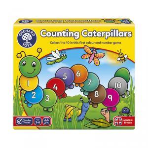 Counting Catterpillars juego de contar