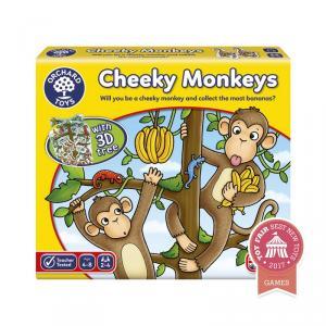 Cheeky Monkeys juego de contar
