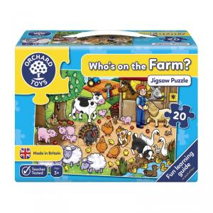 Puzzle para contar Who is on the Farm? (20 piezas)