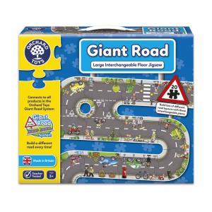 Puzzle gigante suelo Giant Road (20 piezas)