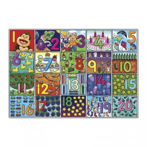 Puzzle Big Number (20 piezas)
