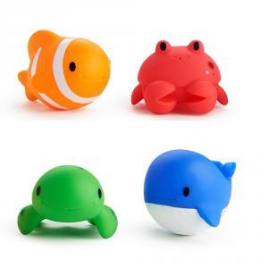 Set 4 animalitos marinos baño