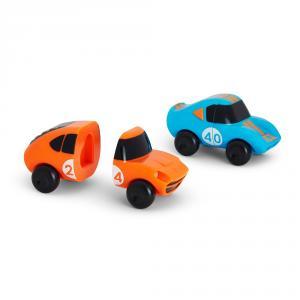 Set 2 coches magnéticos juguete baño