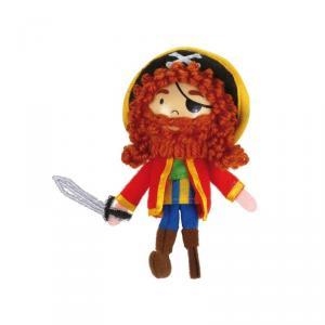 Marioneta de dedo pirata Long John Silver