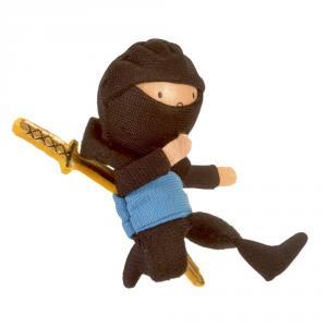 Marioneta dedo ninja azul