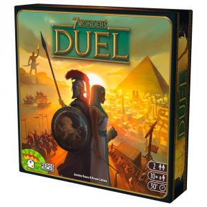 7 Wonders Duel juego de estrategia