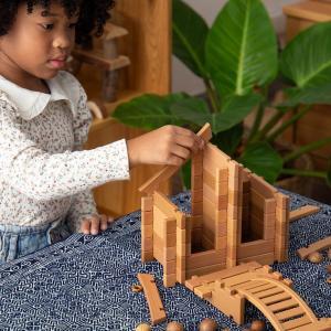 Construcción Notch Blocks Eastern 87 piezas