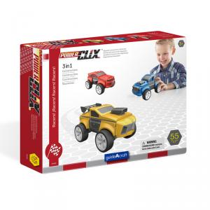 Construcción Power Clix racers 55 piezas