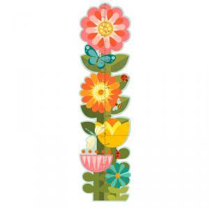Medidor jardín de flores