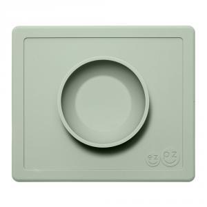 Happy bowl plato-mantel silicona salvia