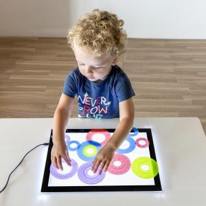 Anillos translúcidas colores y tamaños surtidos 16pzas para mesa de luz