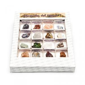 Caja de Minerales del mundo número 2