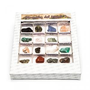 Caja de minerales del mundo número 3