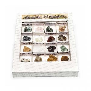 Caja de minerales del mundo número 5