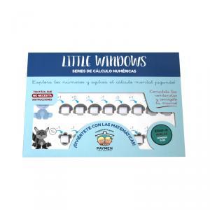 Little Windows A4 nivel 2E números 0-20