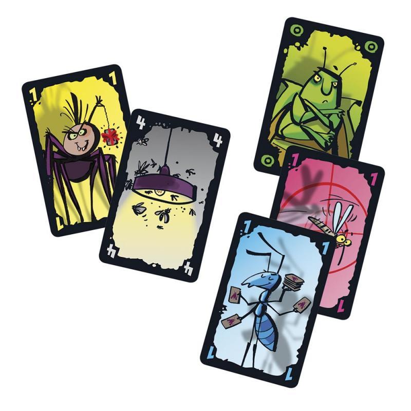 La polilla tramposa juego de cartas