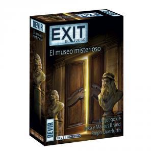 Exit el museo misterioso juego mesa
