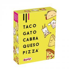 Taco, gato, cabra, queso, pizza juego de cartas