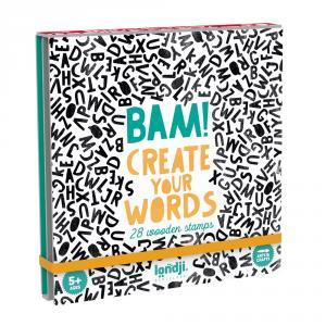 Bam words sellos letras