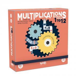 Multiplications juego mesa