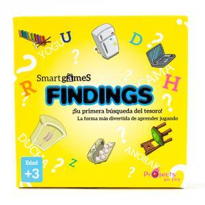 Findings juego de cartas