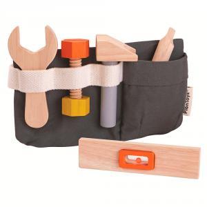 Cinturón herramientas madera
