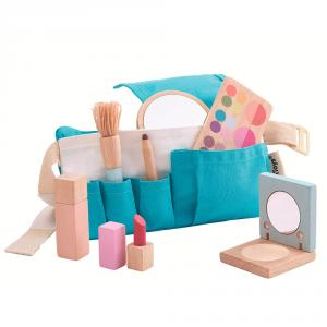 Set de maquillaje madera
