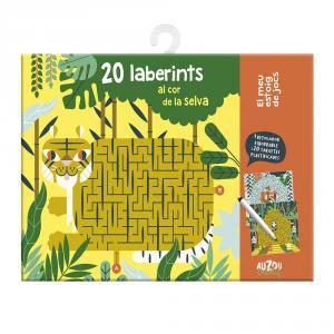 20 Laberints al cor de la selva. El meu estoig de jocs