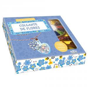 Caja collar de flores