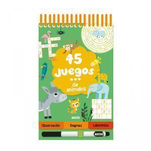 45 juegos ¡con animales!
