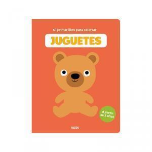 Mi primer libro para colorear de juguetes