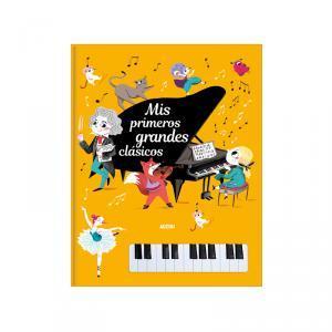 Libro piano, grandes clásicos