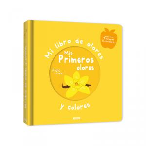 Libro de olores y colores. Mis primeros olores