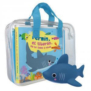 Libro baño: Fermín el tiburón no le teme a nada