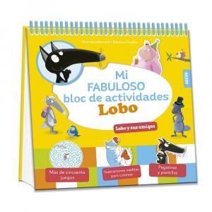 Fabuloso bloc de actividades de Lobo y sus amigos