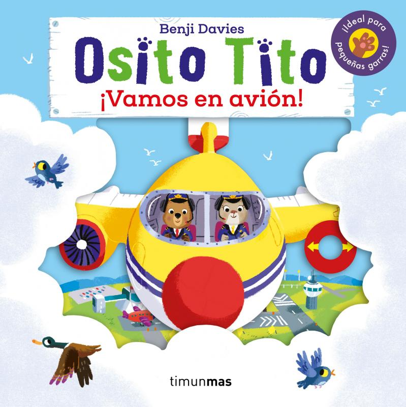 Osito Tito: ¡Vamos en avión!