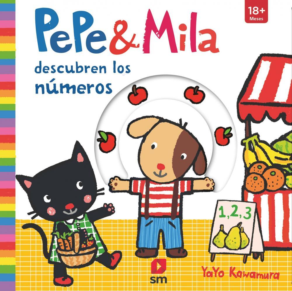 Pepe y Mila aprenden los números