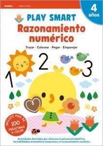 RAZONAMIENTO NUMERICO 4AÑOS 21 PLAY SMART GAKKEN