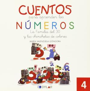 CUENTOS NUMEROS 4: La familia del 30 y las chinchetas de colores.