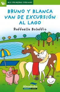 BRUNO Y BLANCA VAN DE EXCURSIÓN AL LAGO