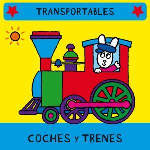 Libro de tela: Coches y trenes