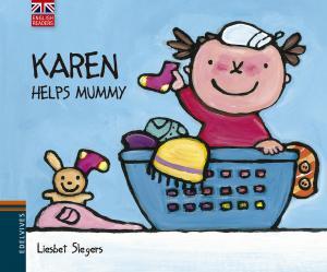 Karen helps mummy.