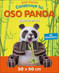 Construye tu oso panda 3D