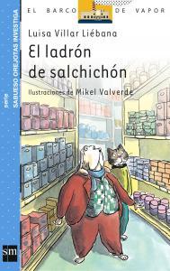 Sabueso Orejotas: El ladrón de salchichón. SM