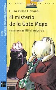 Sabueso Orejotas: El misterio de la Gata Maga. SM