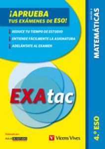 Exactac, matemáticas 4-B ESO.