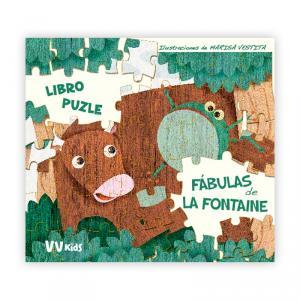 Las Fábulas de la Fontaine (libro Puzzle)