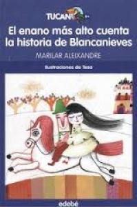 El enano más alto cuenta la historia de Blancanieves