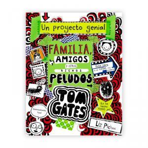 Tom Gates 12 Familia, amigos y otros bichos peludos